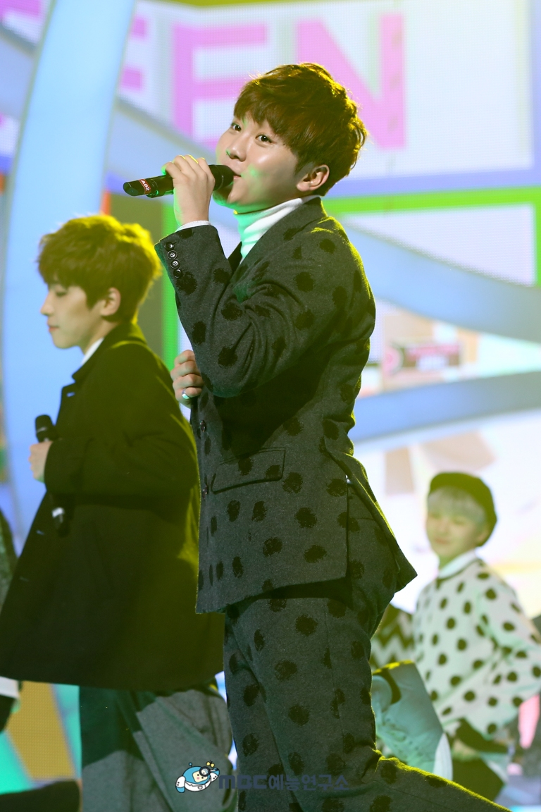 [OFFICIAL] 160102 MBC예능연구소 Twitter Update 25P #세븐틴 #2015MBC가요대제전 (14)