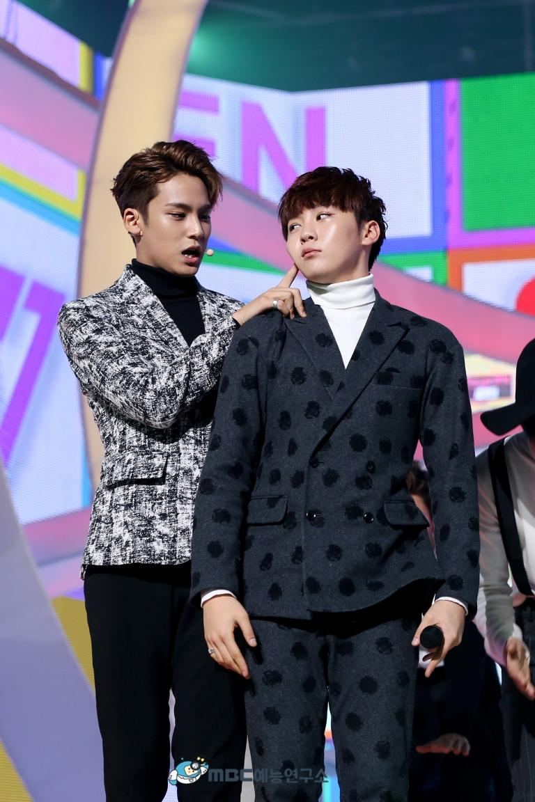 [OFFICIAL] 160102 MBC예능연구소 Twitter Update 25P #세븐틴 #2015MBC가요대제전 (15)