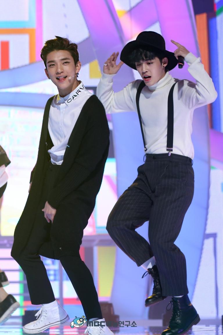[OFFICIAL] 160102 MBC예능연구소 Twitter Update 25P #세븐틴 #2015MBC가요대제전 (6)