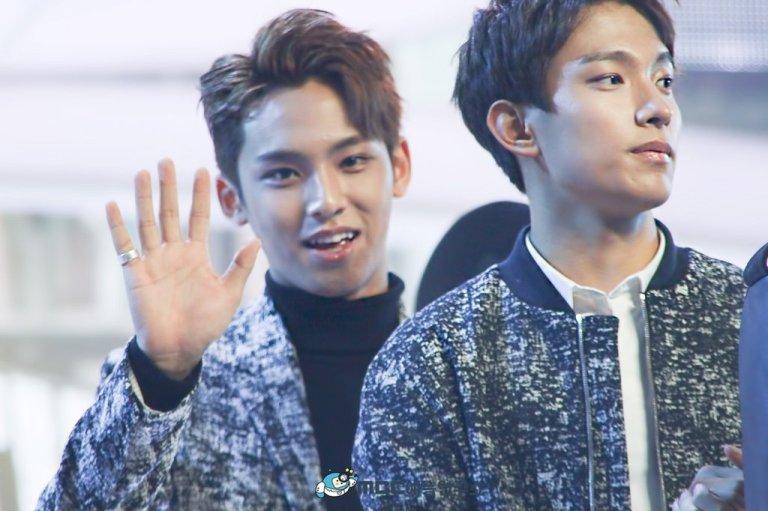 [OFFICIAL] 160103 MBC예능연구소 Twitter Update #세븐틴 #2015MBC가요대제전 14