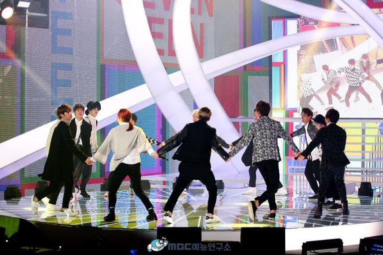 [OFFICIAL] 160104 MBC예능연구소 Twitter Update 6P #TeamSEVENTEEN #세븐틴 #2015MBC가요대제전 5