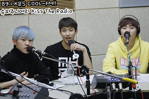 [OFFICIAL] 160107 KBS Kiss The Radio Update (Sukira) w Seventeen's Hoshi, DK and Seungkwan 2P #세븐틴 #호시 #도겸 #승관 (1)