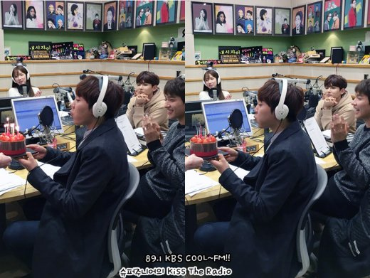 [OFFICIAL] 160114 KBS Kiss The Radio Update (Sukira) w Seventeen's DK and Seungkwan 16P #세븐틴  #도겸 #승관 (11)