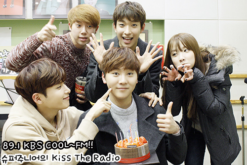 [OFFICIAL] 160114 KBS Kiss The Radio Update (Sukira) w Seventeen's DK and Seungkwan 16P #세븐틴  #도겸 #승관 (14)