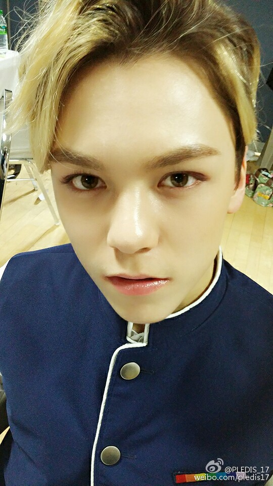 Update 17 Year Old Hartland Boy Located And Safe: [OFFICIAL] 160125 Seventeen Weibo Update