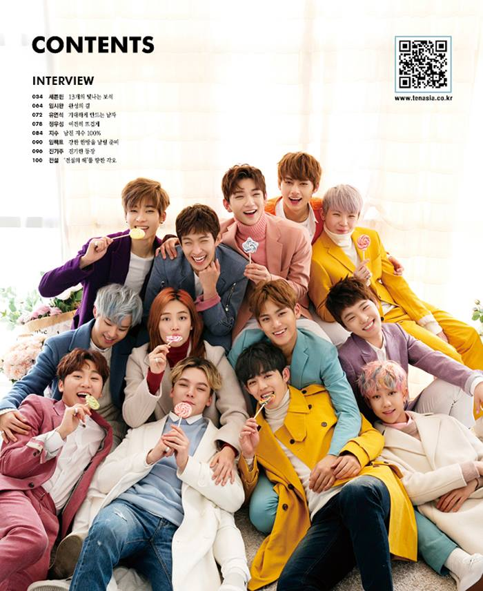 [OFFICIAL] SEVENTEEN for Ten Asia Magazine 10+ Star February Issue Cover! (30 Photos) #세븐틴 #SEVENTEEN (1)