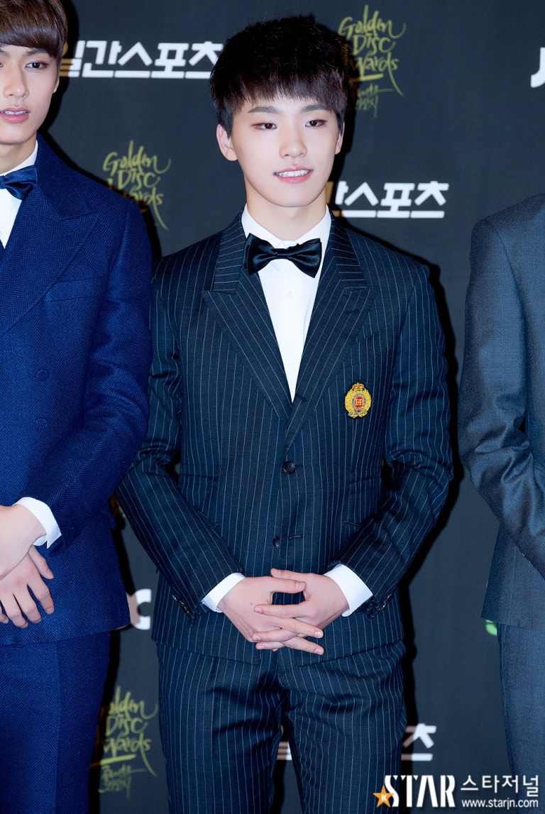 [PRESS] 160121 SEVENTEEN at 30th Golden Disc Awards Red Carpet (27)
