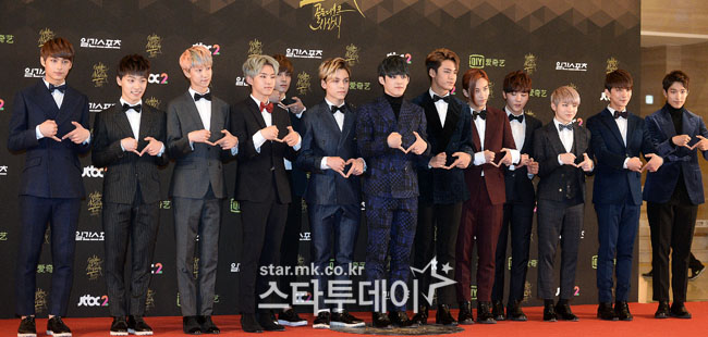 [PRESS] 160121 SEVENTEEN at 30th Golden Disc Awards Red Carpet #세븐틴 #SEVENTEEN #30thGolden #골든디스크어워즈 (25)