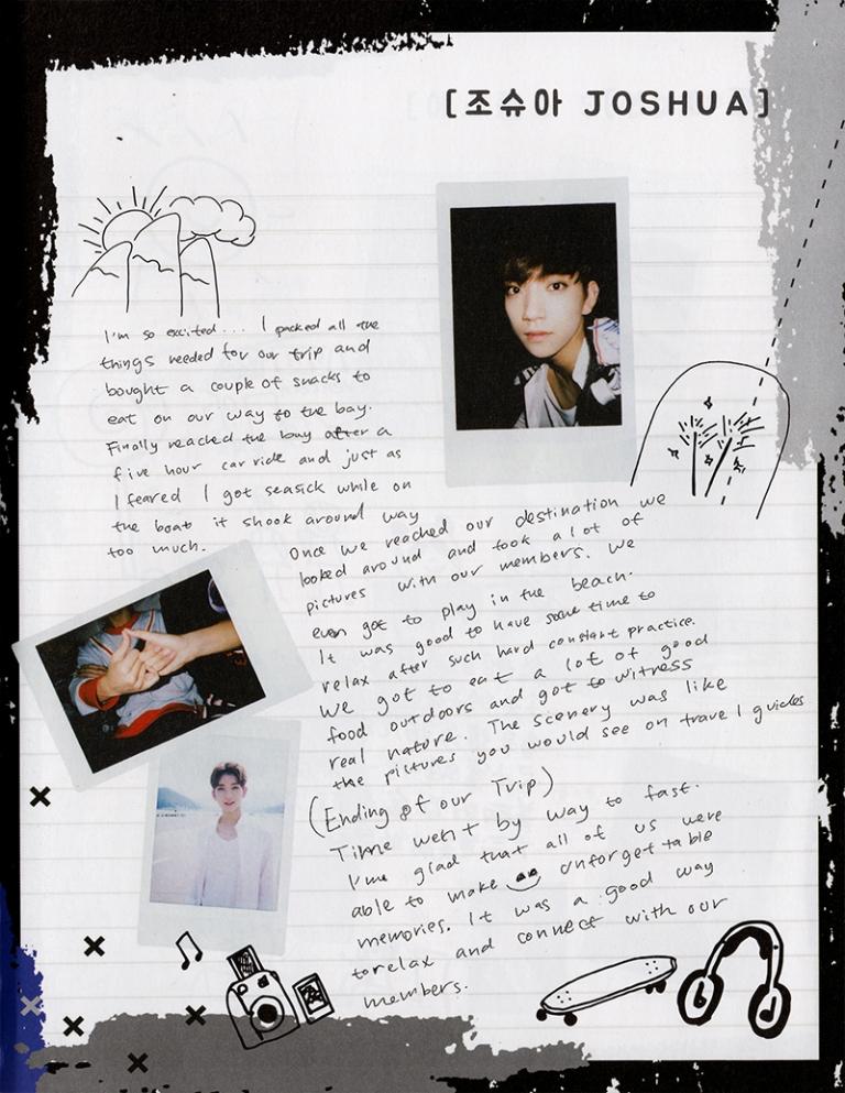 [TRANS] Seventeen 2nd Mini Album 'Boys Be' Diaries (Seek Ver.) #세븐틴 #SEVENTEEN #SVT 3
