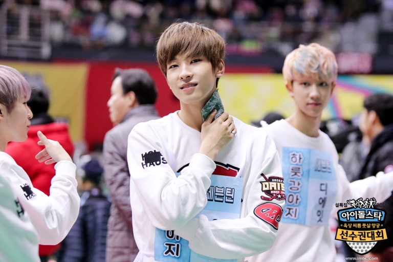 [OFFICIAL] Seventeen at MBC ISAC 2016 #아육대 #세븐틴 #SEVENTEEN (2)