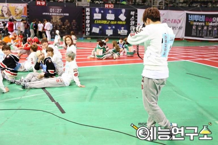 [OFFICIAL] Seventeen at MBC ISAC 2016 #아육대 #세븐틴 #SEVENTEEN (4)