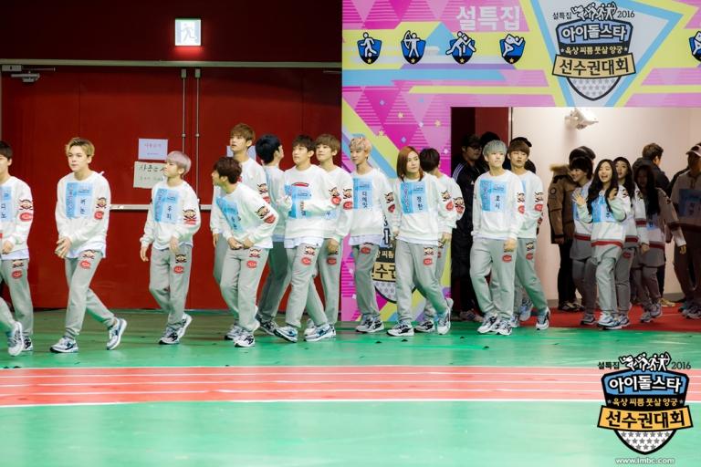 [OFFICIAL] Seventeen at MBC ISAC 2016 아이돌스타 선수권대회 #아육대 #세븐틴 #SEVENTEEN (2)