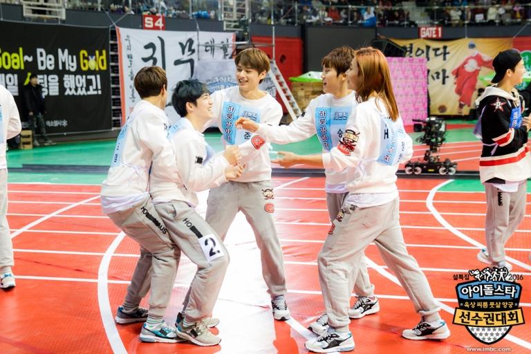 [OFFICIAL] Seventeen at MBC ISAC 2016 아이돌스타 선수권대회 #아육대 #세븐틴 #SEVENTEEN (13)