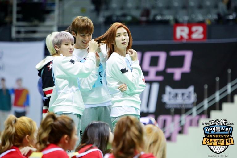 [OFFICIAL] Seventeen at MBC ISAC 2016 아이돌스타 선수권대회 #아육대 #세븐틴 #SEVENTEEN (18)