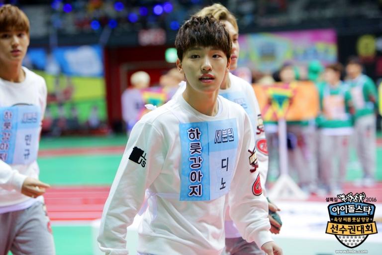 [OFFICIAL] Seventeen at MBC ISAC 2016 아이돌스타 선수권대회 #아육대 #세븐틴 #SEVENTEEN (3)