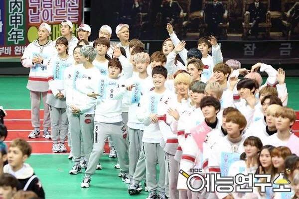 [OFFICIAL] Seventeen at MBC ISAC 2016 아이돌스타 선수권대회 #아육대 #세븐틴 #SEVENTEEN (22)