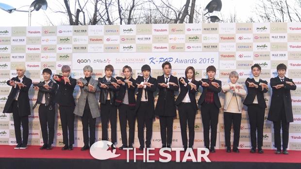 [PRESS] 160217 Seventeen at '5th Gaon Chart K-POP Awards!' #SEVENTEEN #세븐틴 #GaonChartAwards #가온차트 (4)