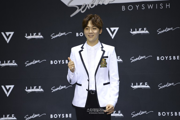 [PRESS] SEVENTEEN 'Like Seventeen - Boys Wish' Encore Concert Press Conference #세븐틴 #SEVENTEEN (13)