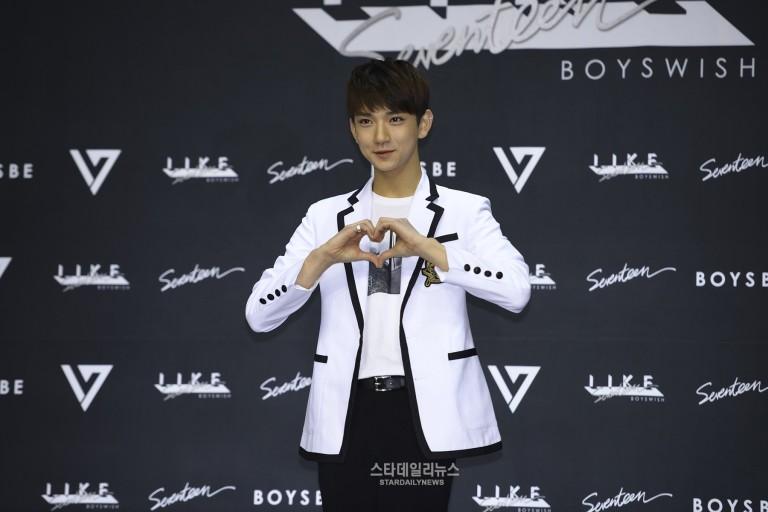 [PRESS] SEVENTEEN 'Like Seventeen - Boys Wish' Encore Concert Press Conference #세븐틴 #SEVENTEEN (14)