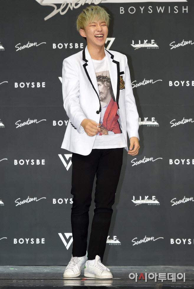 [PRESS] SEVENTEEN 'Like Seventeen - Boys Wish' Encore Concert Press Conference #세븐틴 #SEVENTEEN (73)