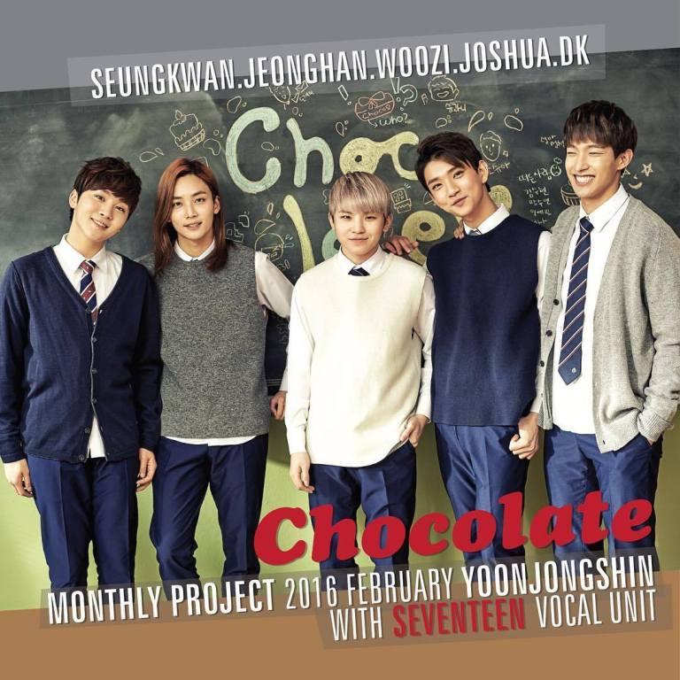[SEVENTEEN NEWS] #월간윤종신 #세븐틴 #윤종신 #CHOCOLATE #2월12일