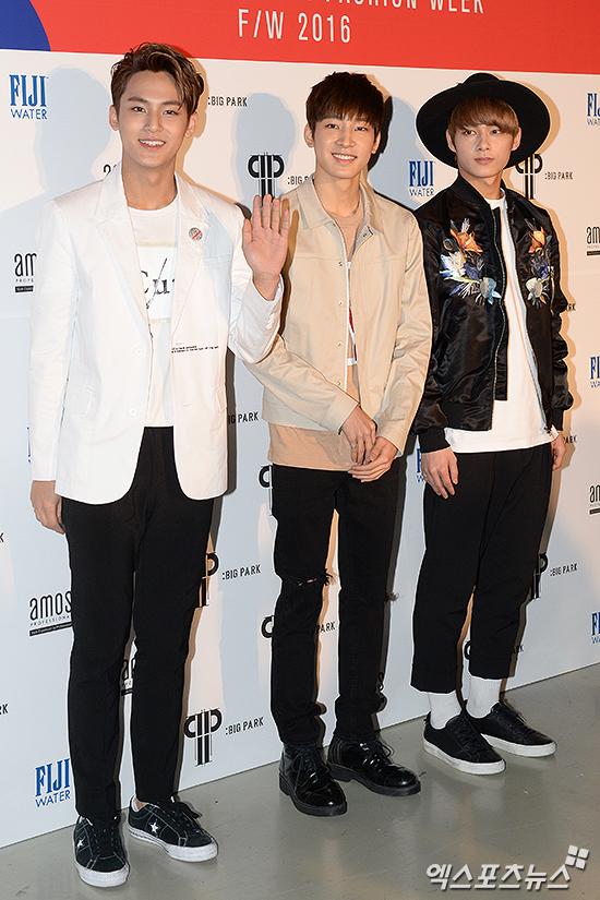 [PRESS] 160323 Seventeen Jun, Wonwoo & Mingyu at 2016 FW HERA Seoul Fashion Week (11)