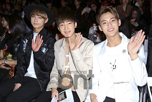 [PRESS] 160323 Seventeen Jun, Wonwoo & Mingyu at 2016 FW HERA Seoul Fashion Week (21)