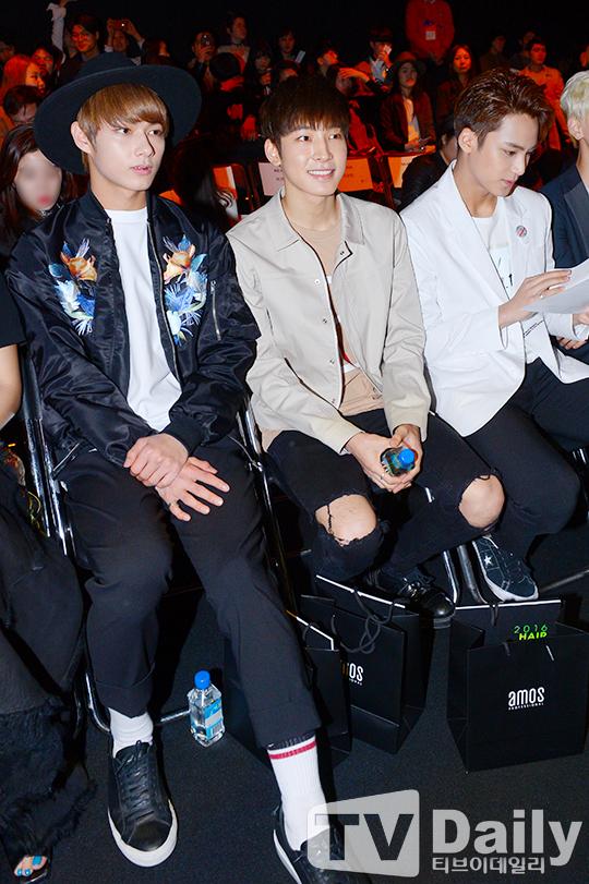 [PRESS] 160323 Seventeen Jun, Wonwoo & Mingyu at 2016 FW HERA Seoul Fashion Week (9)