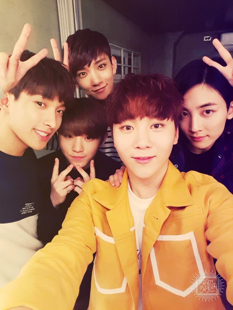 [OFFICIAL] 160427 Music Video Bank Twitter Update #세븐틴 #예쁘다 1