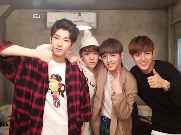 [OFFICIAL] 160427 Music Video Bank Twitter Update #세븐틴 #예쁘다 4