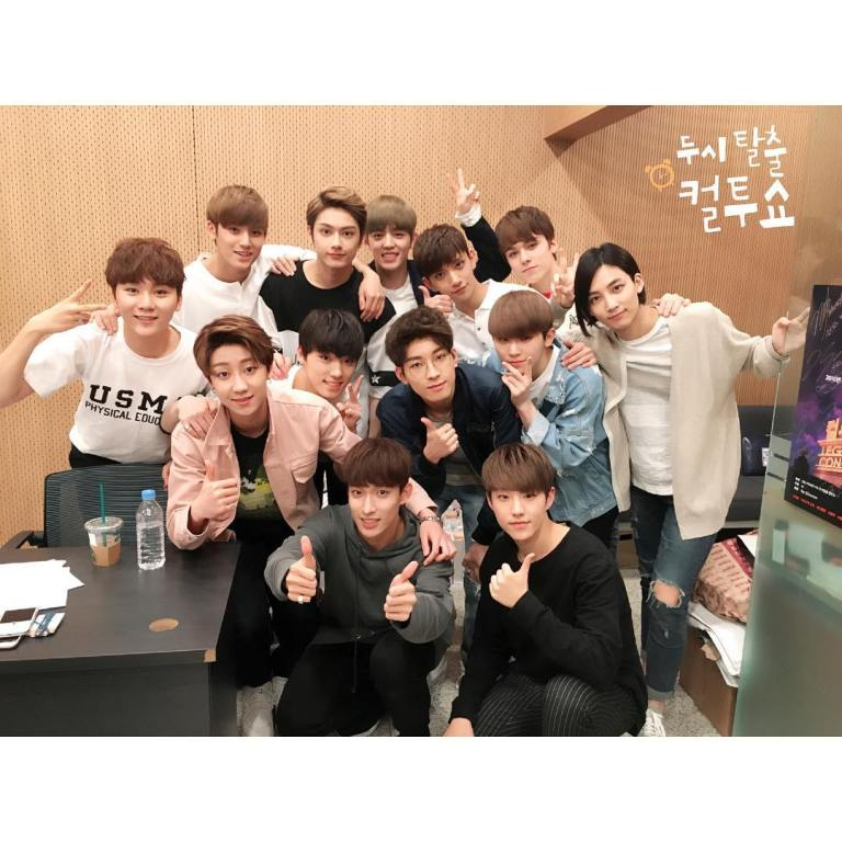 [OFFICIAL] 160427 SBS Cultwo Show Instagram Update #세븐틴 #예쁘다