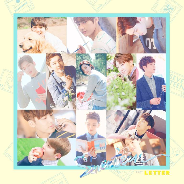 SEVENTEEN LOVE AND LETTER COVER IMAGE