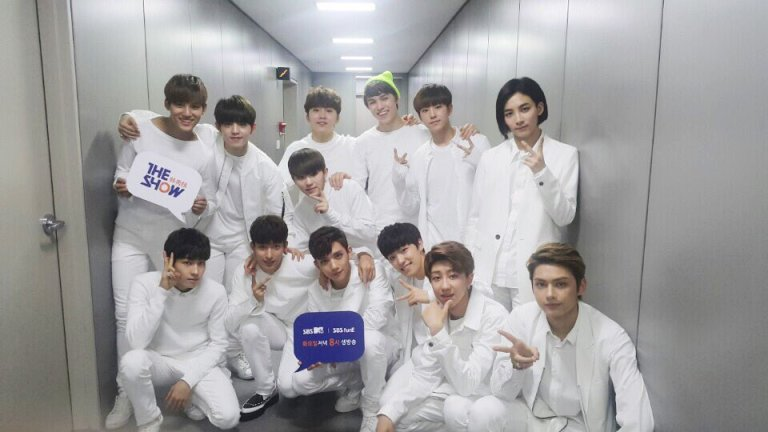 [OFFICIAL] 160510 SBS MTV The Show Twitter Update #세븐틴 #더쇼 (1)