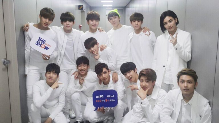 [OFFICIAL] 160510 SBS MTV The Show Twitter Update #세븐틴 #더쇼 (2)