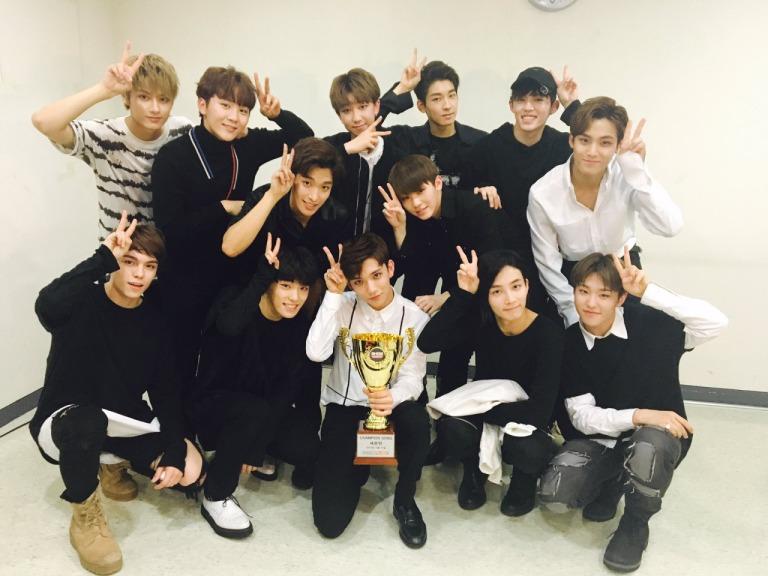 [OFFICIAL] 160511 MBC Show Champion Twitter Update #SEVENTEEN2ndWin #PrettyU2ndWin #세븐틴 #예쁘다 (2)
