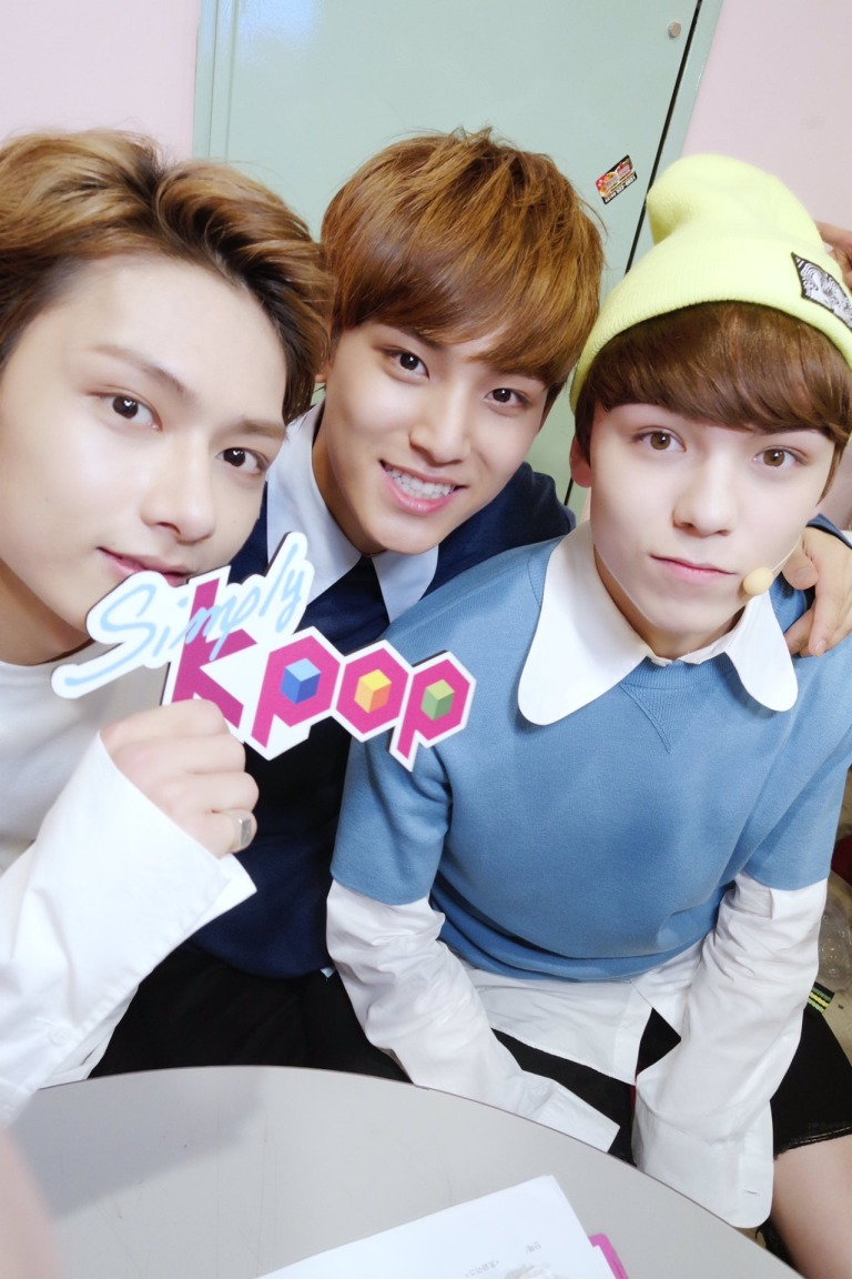 [OFFICIAL] 160512 Simply K-Pop Twitter Update #SEVENTEEN #세븐틴 #예쁘다 7