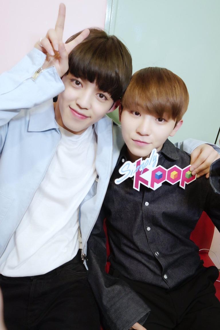 [OFFICIAL] 160512 Simply K-Pop Twitter Update #SEVENTEEN #세븐틴 #예쁘다