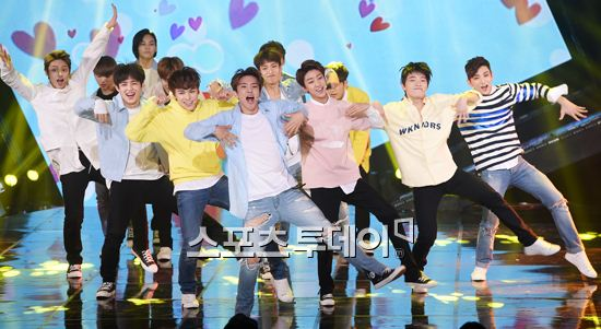 [PRESS] 160503 Seventeen at SBS MTV The Show 88P @SBS_MTV #세븐틴 #더쇼 #예쁘다 (14)