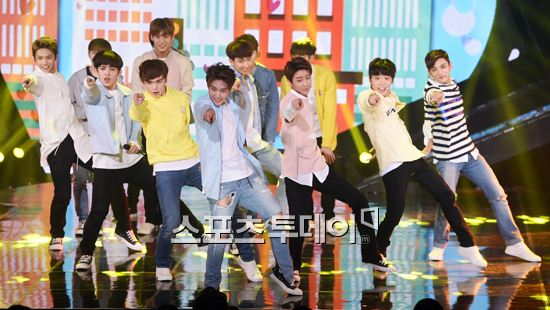 [PRESS] 160503 Seventeen at SBS MTV The Show 88P @SBS_MTV #세븐틴 #더쇼 #예쁘다 (15)