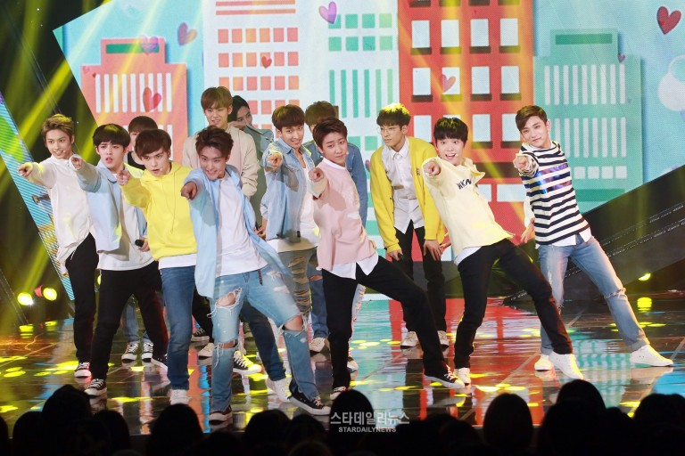 [PRESS] 160503 Seventeen at SBS MTV The Show 88P @SBS_MTV #세븐틴 #더쇼 #예쁘다 (18)