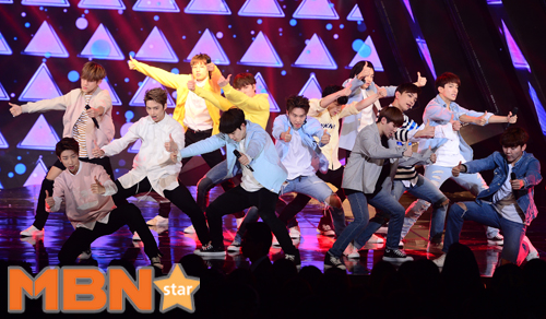 [PRESS] 160503 Seventeen at SBS MTV The Show 88P @SBS_MTV #세븐틴 #더쇼 #예쁘다 (36)