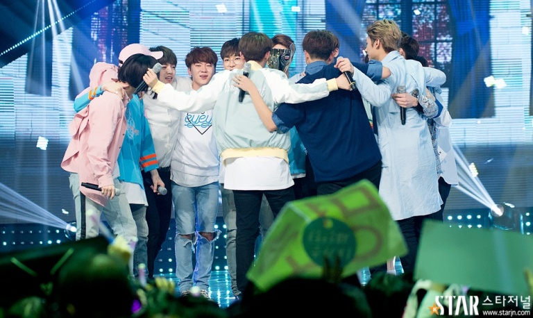 [PRESS] 160504 Seventeen 1st Win at MBC Show Champion #SEVENTEEN1stWin #PrettyU1stWin #세븐틴 #1위 #예쁘다 (39)