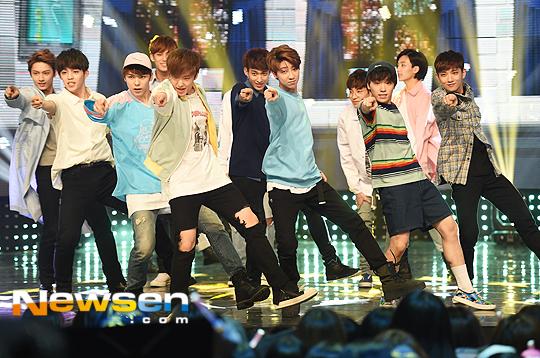 [PRESS] 160504 Seventeen 1st Win at MBC Show Champion #SEVENTEEN1stWin #PrettyU1stWin #세븐틴 #1위 #예쁘다 (41)