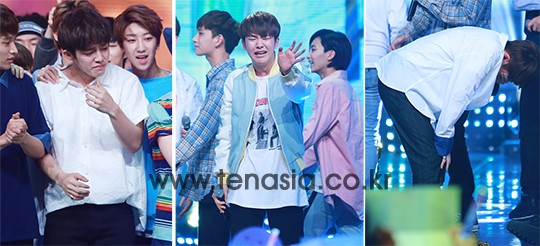 [PRESS] 160504 Seventeen 1st Win at MBC Show Champion #SEVENTEEN1stWin #PrettyU1stWin #세븐틴 #1위 #예쁘다 (85)