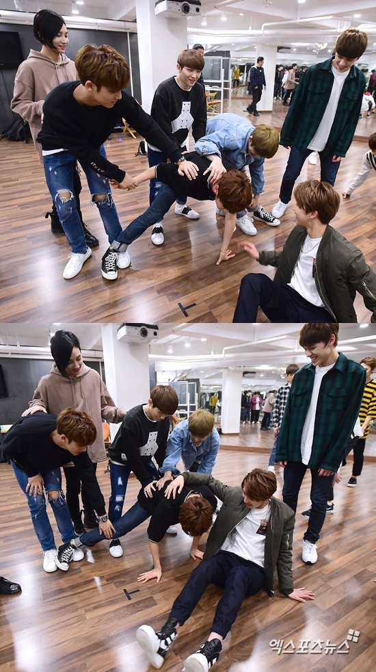 [PRESS] 160506 XPortsNews Star Shot Update ft. Seventeen #세븐틴 #예쁘다 (11)