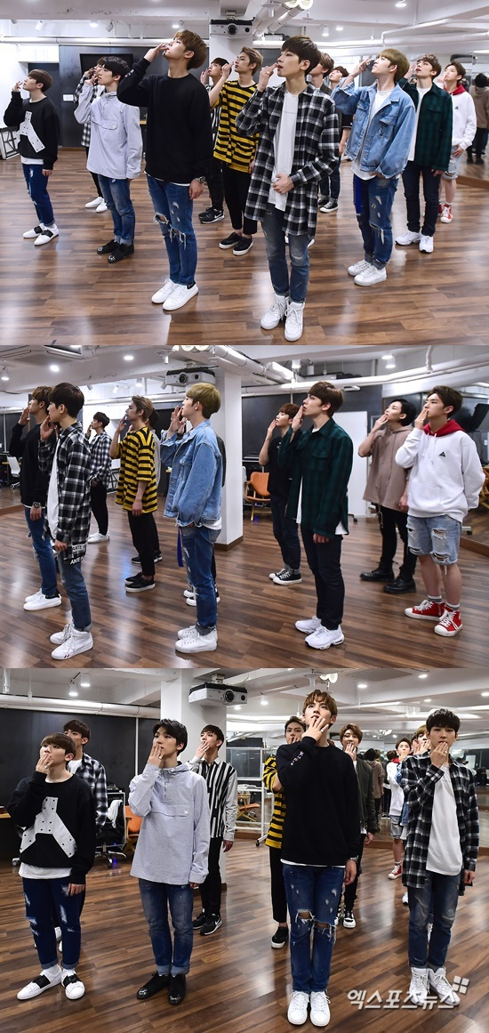 [PRESS] 160506 XPortsNews Star Shot Update ft. Seventeen #세븐틴 #예쁘다 (8)