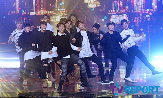[PRESS] 160511 Seventeen 2nd Win at MBC Show Champion 47P #SEVENTEEN2ndWin #PrettyU2ndWin #세븐틴 #1위 #예쁘다 (7)