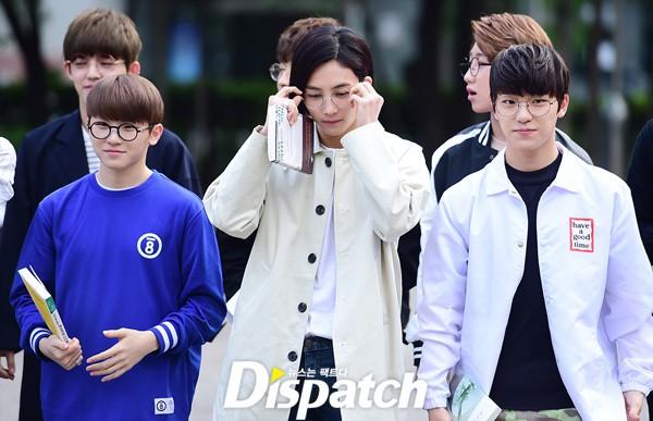 [PRESS] 160513 Seventeen heading to KBS Music Bank Rehearsal #세븐틴 #예쁘다 (16)