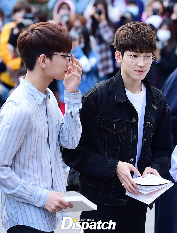 [PRESS] 160513 Seventeen heading to KBS Music Bank Rehearsal #세븐틴 #예쁘다 (18)