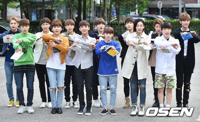 [PRESS] 160513 Seventeen heading to KBS Music Bank Rehearsal #세븐틴 #예쁘다 (27)